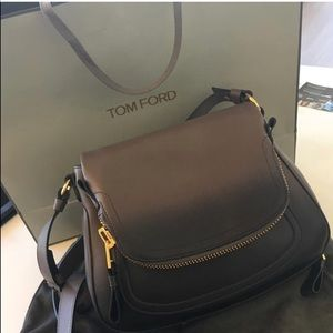 cfb09eebd4b14 Tom Ford Bags - Tom ford ombré gray Jennifer Aniston cross body